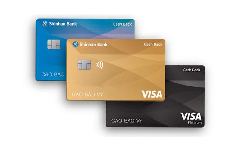Sản phẩm thẻ tín dụng Shinhan Bank - Visa Cash Back