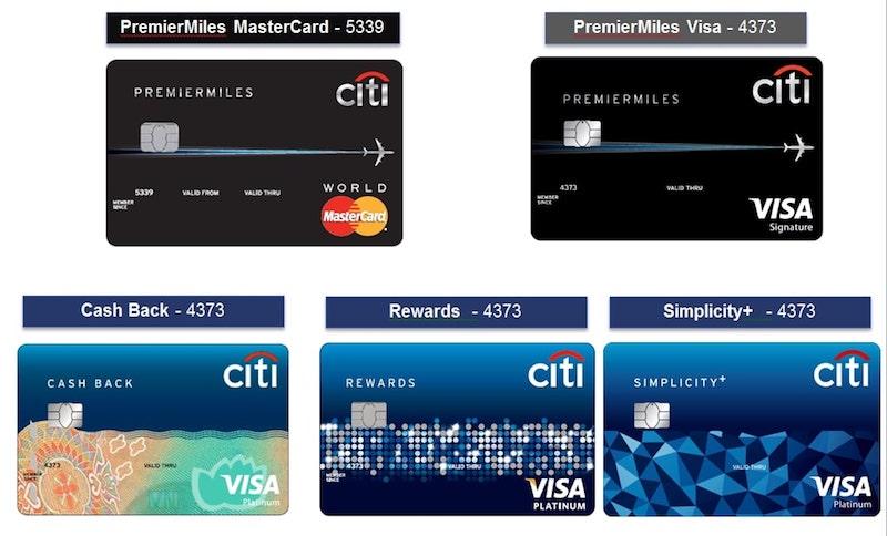 Các sản phẩm thẻ tín dụng nổi bật của ngân hàng Citibank