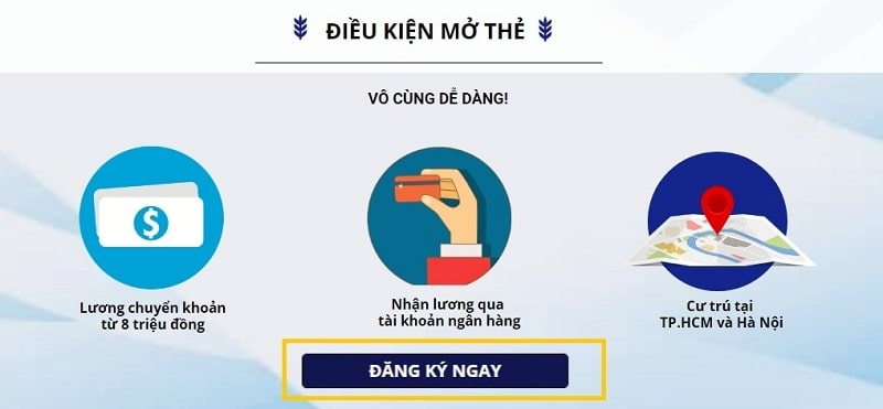 Điều kiện cơ bản đê mở thẻ tín dụng Citibank