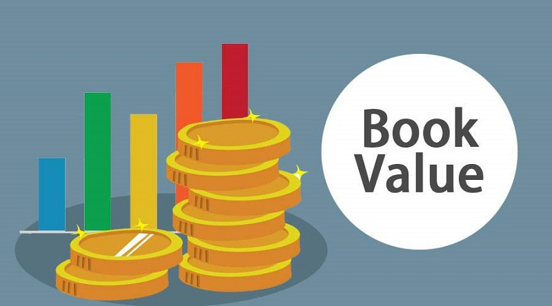Giá trị sổ sách của cổ phiếu tính trên một cổ phiếu đang lưu hành
