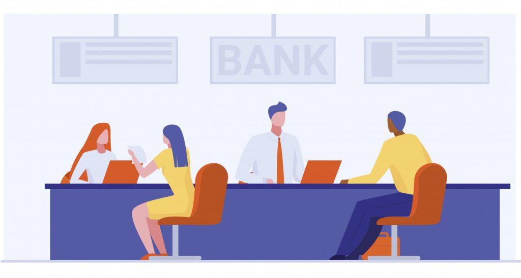 Chuyển tiền tại các chi nhánh, phòng giao dịch của ngân hàng